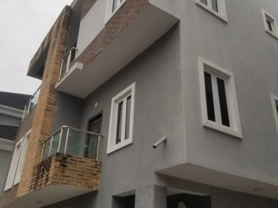 Spacious 4 Bedroom Terrace House with BQ and Garage at Lekki, Lagos